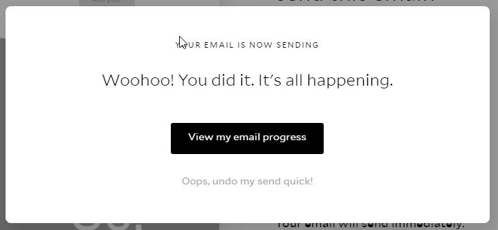 Flodesk email sending