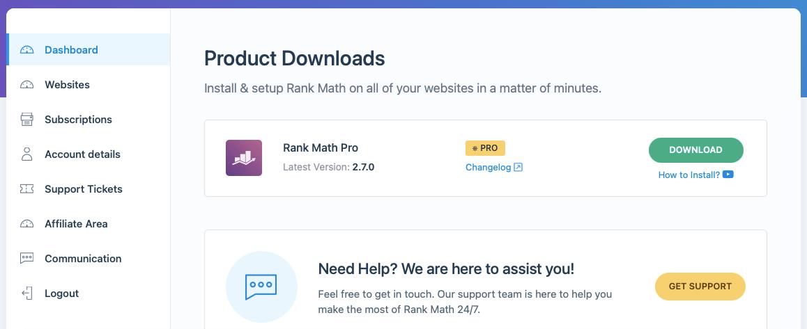 Rankmath Pro SEO Plugin Download