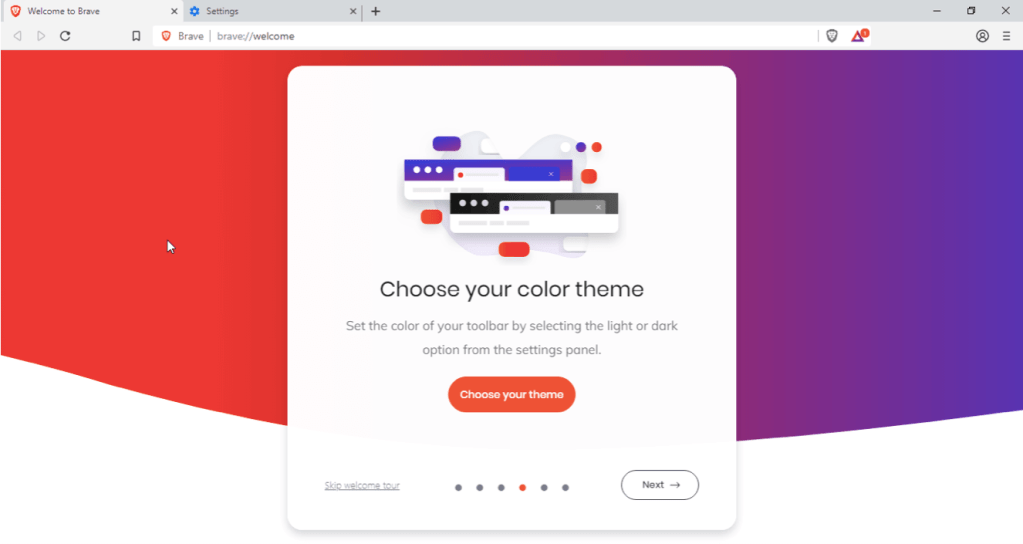 Brave Browser Themes