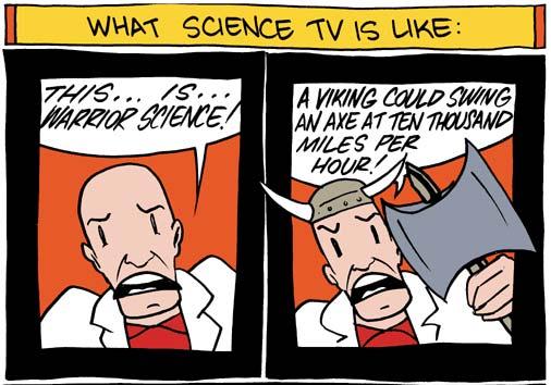 Movie/TV Science vs Real Science - Sandeep Ravindran