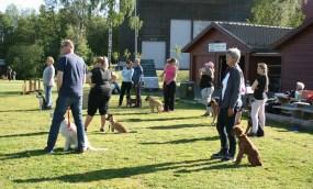 IMG_9462 Deltagere ser på Svein og Remy.