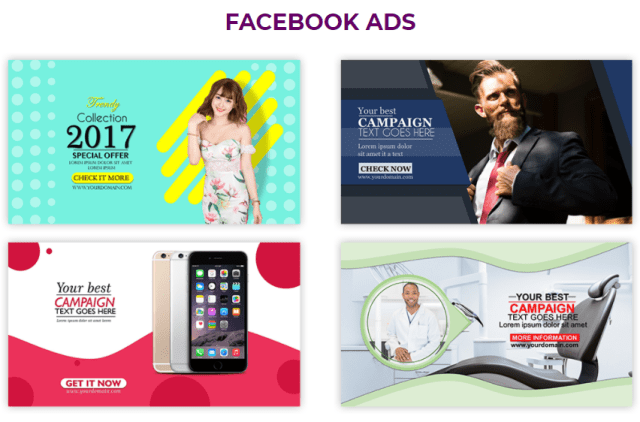 graphysuite facebook ads templates