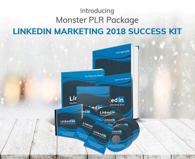 LinkedIn Marketing 2018 Success Kit PLR