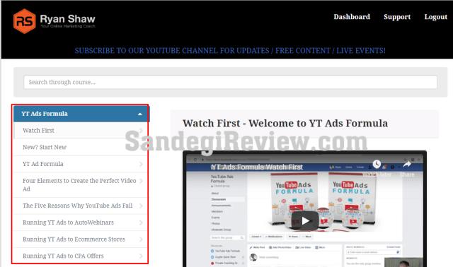 yt ads formula