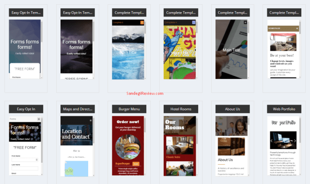 mobifirst review select templates 4