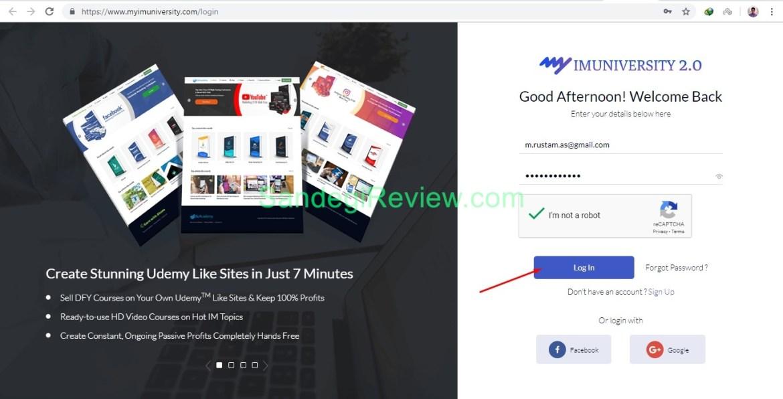 myimuniversity 2.0 review login