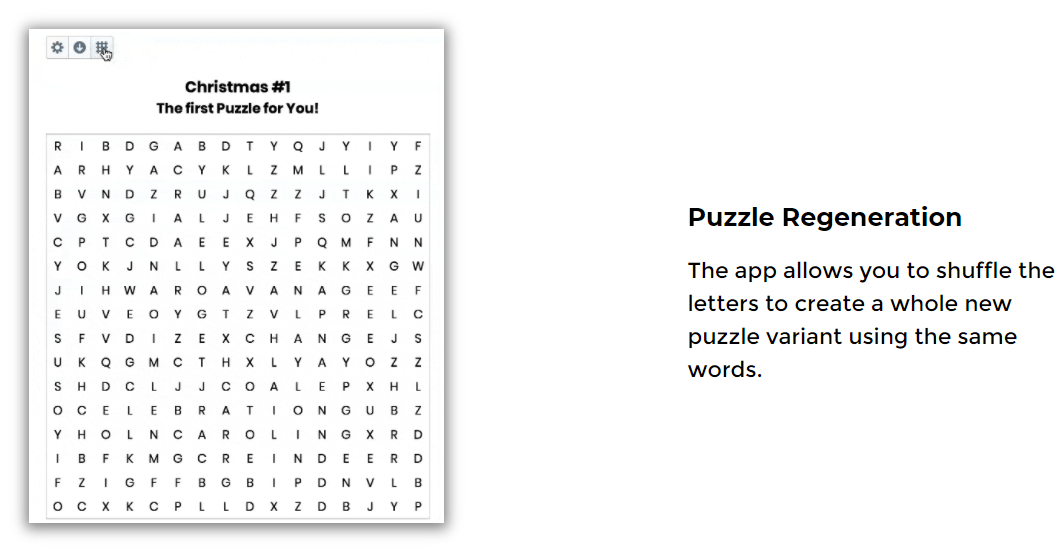 instant puzzle generator reviews, you can regenerate the puzzle