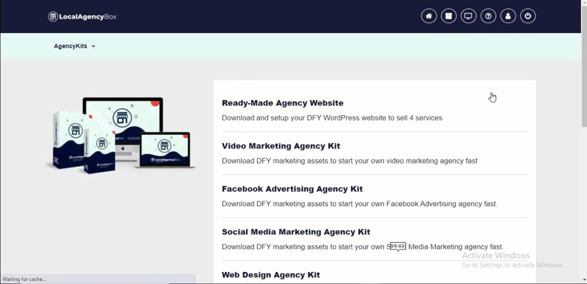 local agency box review dashboard 1