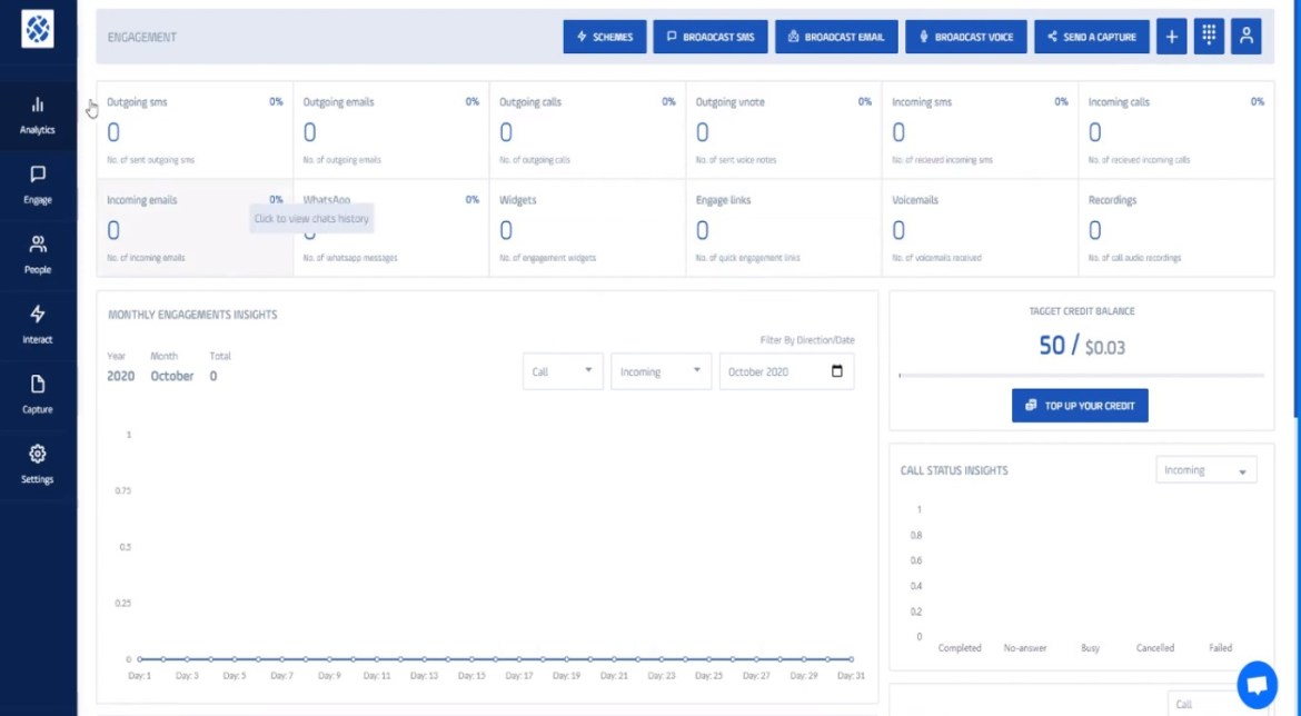 tagget reviews the dashboard of tagget