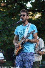 Daniel Kreiger of The Brightside performs at Linfield College