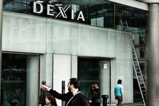 Dexia building entrance