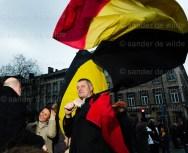 SHAME België protesteert voor regeringsvorming