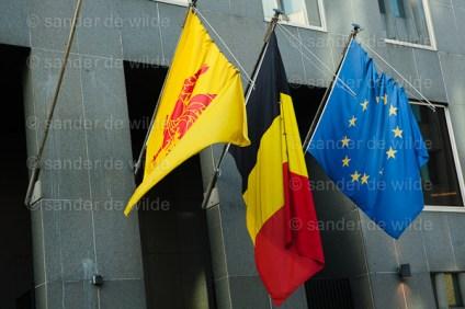 Vlaggen Waalse gemeenschap