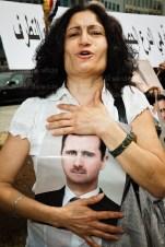 Pro Assad demonstration Brussels