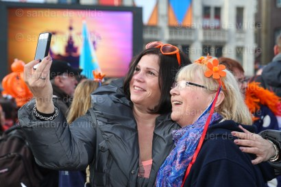 Last day of Queen Beatrix before abdication
