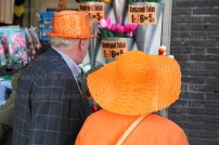 Orange hats at Last day of Queen Beatrix before abdication