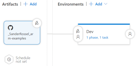 VSTS release pipeline