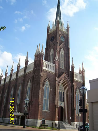 StMarys Cathedral Historic Renovation Natchez MS  Sanders Engineering  Mississippi