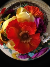 fisheye lens - spring wreath