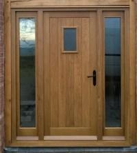 Bespoke external doors by Sanderson's Fine Funiture & Joinery