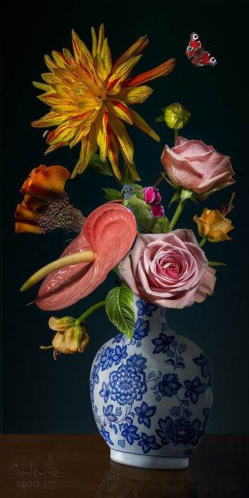 Royal Flower II te koop bij Galerie1400.nlRoyal Flower I te koop bij Galerie1400.nl