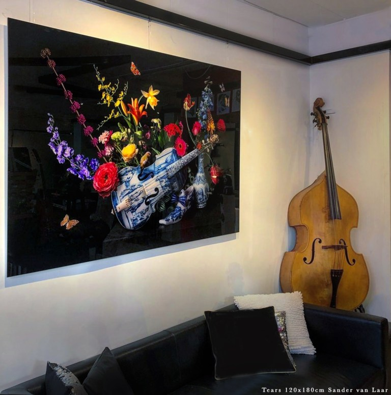 interior art by Sander van Laar 120x180cm aqrylglass (limited edition 1/2) by wallmore.nl