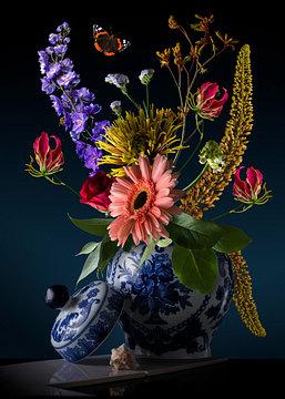 Royal-flora-sander-van-laar Gezien bij VTWONEN