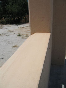 30cm thick walls give rammed earth its wonderful thermal properties
