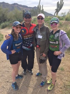 Junior Pro Shooters Jalise & Justine Williams - both world champions - and their coach Glen Wong-2017 Area 2 Championship