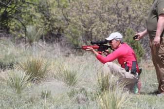 2019 He-Man Heidi making 300+ yard rifle shots