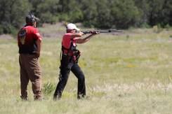 Heidi at 2019 He-Man making 100+ yard shotgun slug shots