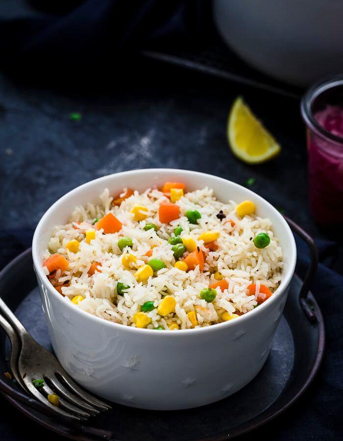 Vegetable Pulao Rice Recipe Image
