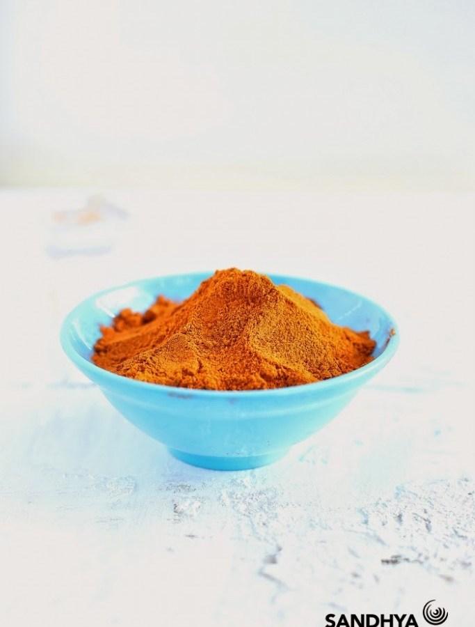 sambar powder recipe image