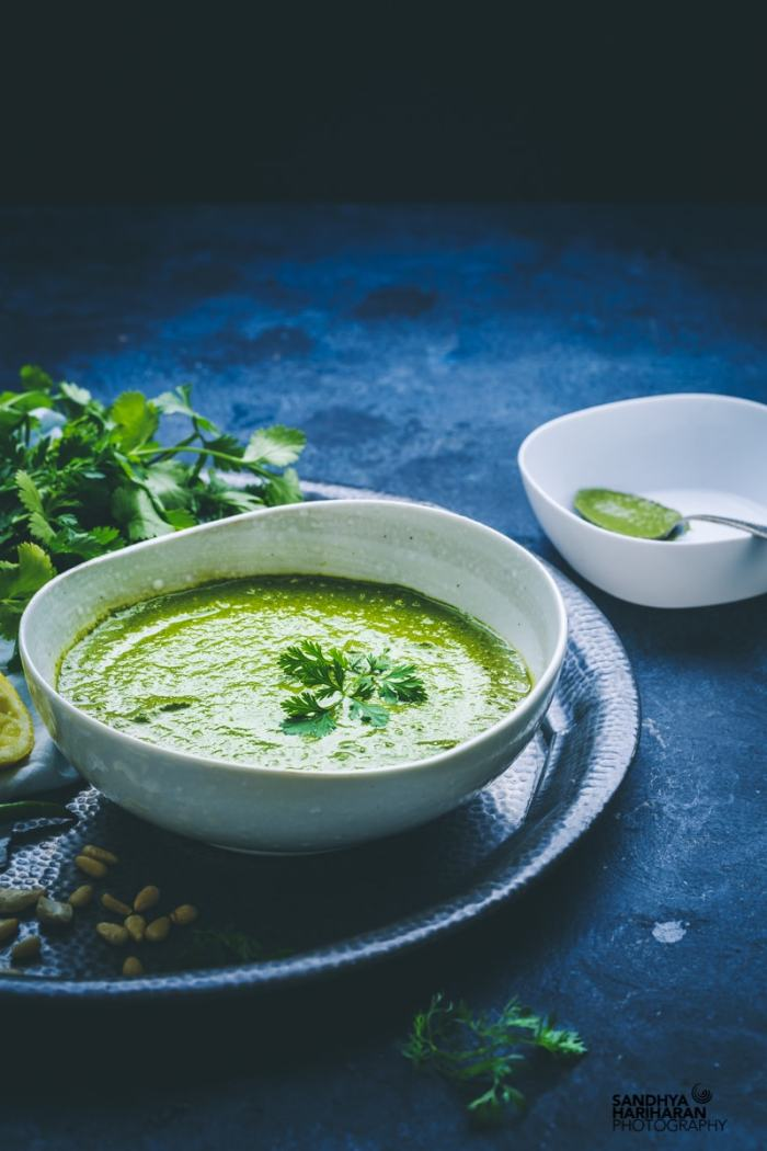 cilantro pesto image recipe