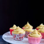 Vanilla Cupcakes with Cream Cheese Buttercream Icing