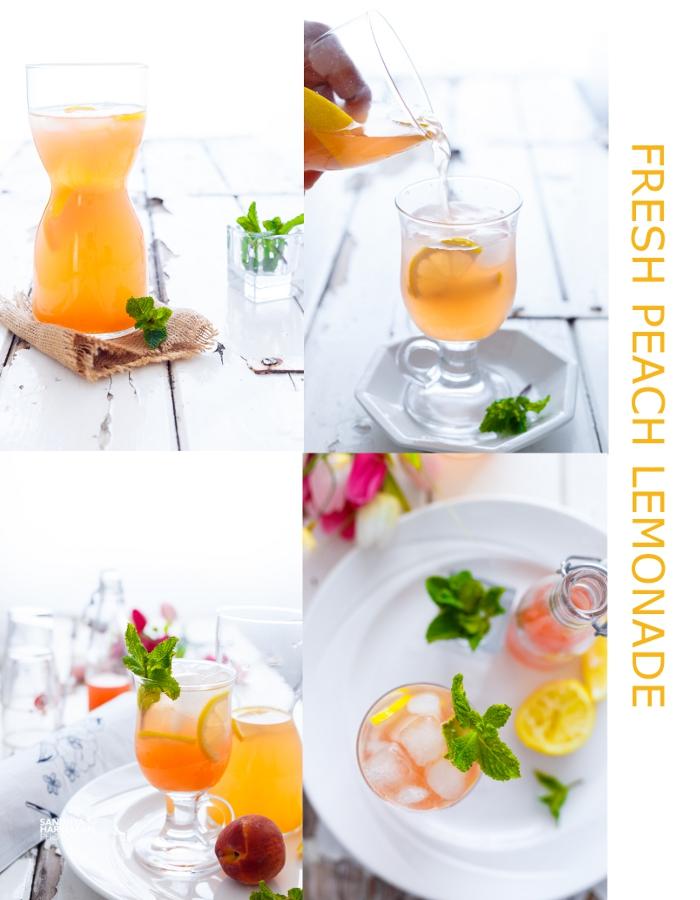 peach-lemonade-collage