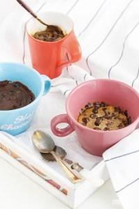 2 Min Mug Chocolate Chip Cookie