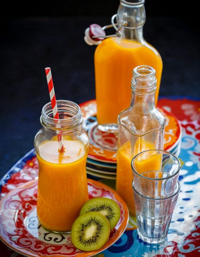 mango orange kiwi juice