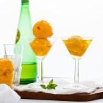 5 Minutes Mango Sorbet Float