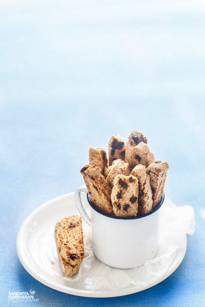 Chocolate Chips Almond Biscotti