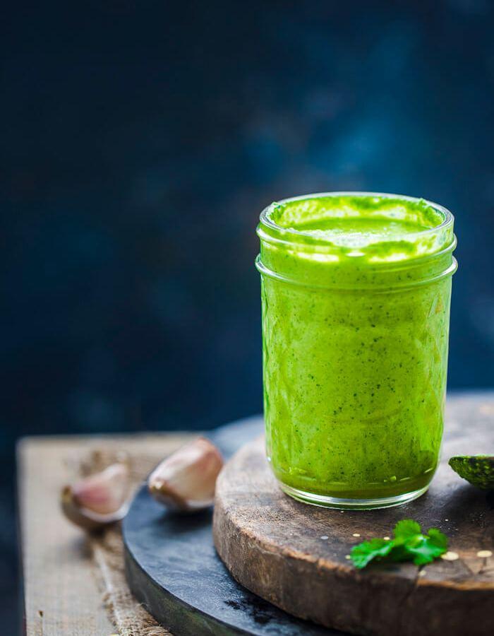 Coriander Pesto Sauce Image