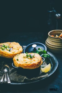 Pav Bhaji Pot Pie