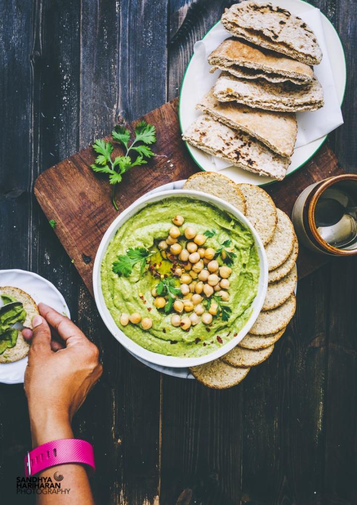 Easy Avocado Hummus recipe image
