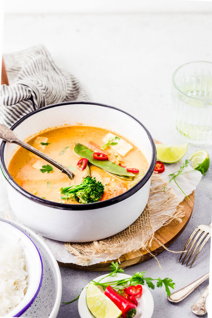 vegetable thai red curry recipe
