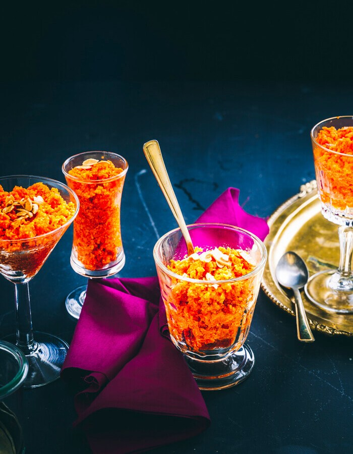 gajar ka halwa recipe with khoya | Carrot Halwa