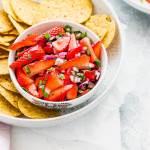 strawberry salsa recipe image