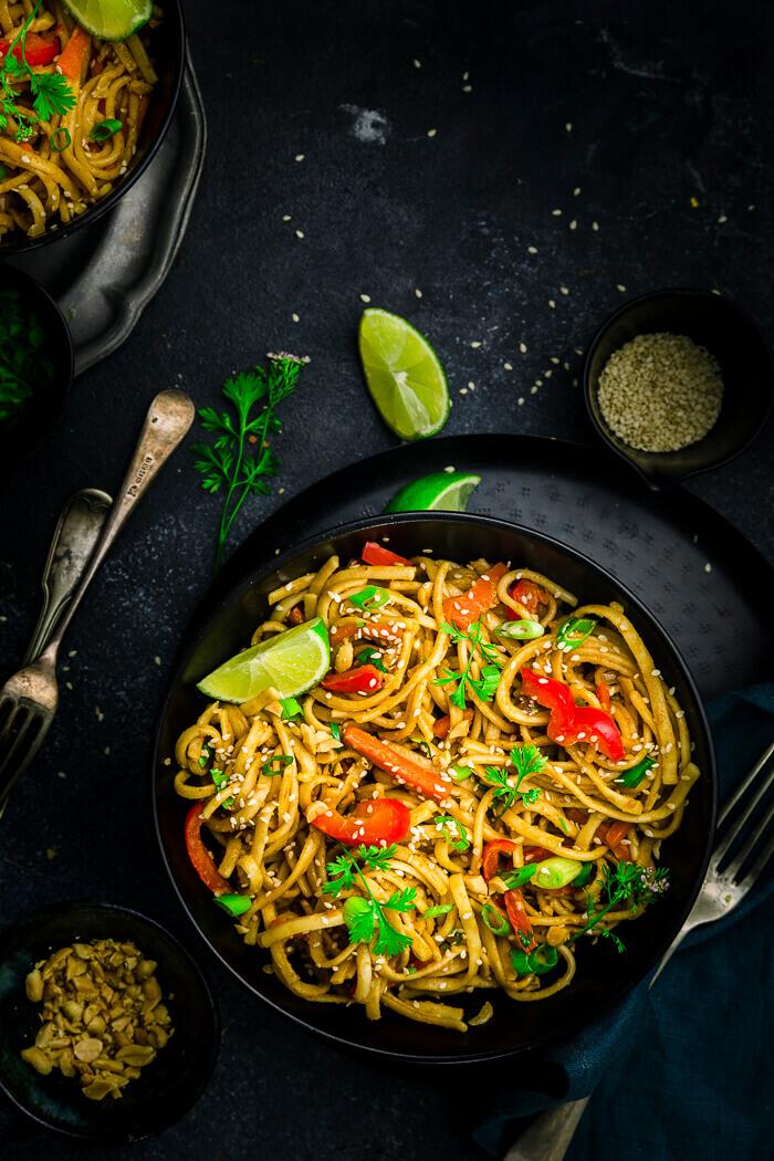 thai peanut noodles recipe