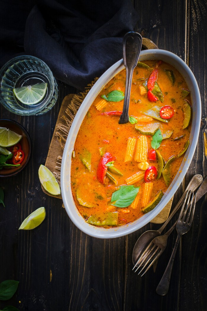 instant pot thai red curry image