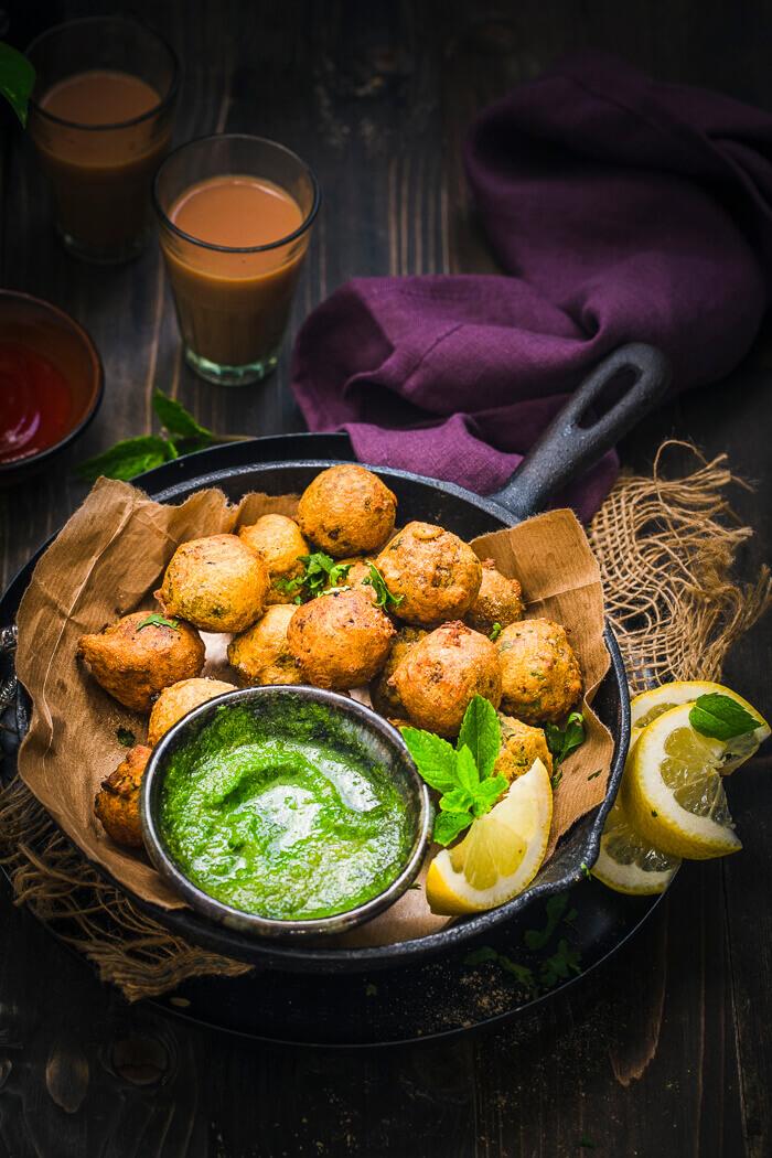 Vegetarian Haggis Pakora
