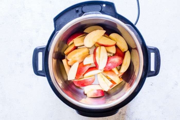 Apples in the Instant Pot
